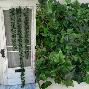 4/$25 Artificial Green Ivy Garlands 3 strands
